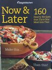 Weight Watchers Now  Later Cookbook