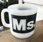 White Mid Century Modern Office Cup Mug