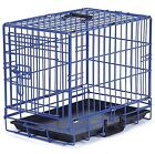ProSelect Crate Appeal Fashion Color Dog Crates for Dogs and Pets Blue XL New