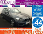2013 BMW 116D 20 SE GOOD BAD CREDIT CAR FINANCE FROM 44 P WK