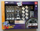 CAR SHOW for 1:24 Scale Diecast Diorama TROPHY BILLBOARD MIRROR SIGN CHAINS