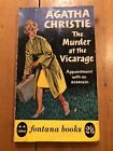 1961 AGATHA CHRISTIE THE MURDER AT THE VICARAGE 1ST PRINT PAPERBACK BOOK