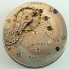 Southbend Grade 330 Complete Running Pocket Watch Movement  Parts Repair