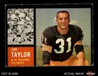 1962 Topps Football Cards 4