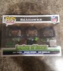 Funko Pop! NFL Seattle Seahawks Legion of Boom 3-Pack LE 5000 Pieces Rare New