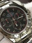 Rolex Daytona Watch 116509 18k White Gold Arabic Dial Box Papers Complete