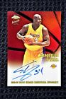 2002-03 Topps Chrome Shaquille O'Neal Refractor Certified Autograph # 485 850