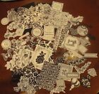 Anna Griffin Vintage Collage Card Toppers Die Cuts Variety 63 pcs