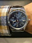 Swatch Sistem51 Irony FLY YIS404 / Brown Leather / Automatic / Blue Dial / Mint