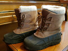 Kamik Denali Beige Tan Ski Snow Boots Kids Youth Size 3