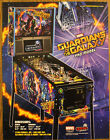 GUARDIANS OF THE GALAXY Pro Stern Pinball flyer