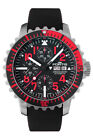 Fortis Men's 671.23.43 K Marinemaster Chronograph Automatic Black Rubber Watch