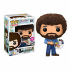 POP! Television BOB ROSS Flocked #524 Exclusive Funko Official New