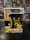 Funko Pop! Heroes DC Comics Batman #01 Yellow Entertainment Earth Exclusive!