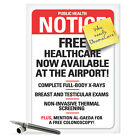 J8944 Jumbo Funny Get Well Card Obamacare FB 85x11 large greeting cards