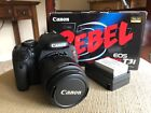 Canon EOS Rebel T3i EOS 600D 180MP Digital SLR Camera w 18 55mm EFS lens