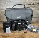Nikon D5300 242MP Digital SLR Camera Black Body Only 2293 Shutter Count