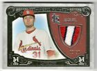 2016 Topps Museum Collection Meaningful Material Relic #MMPR-LL Lance Lynn #d...