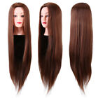 Practice Training Head Long Hair Salon Model Hairdressing Mannequin Doll US