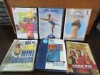 Lot of 6 Home Fitness Workout DVDs Biggest Loser Bosu 6 Day Mini Makeover