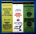 1940s/60s Amoco Gas Stations #2 Matchbook Cover Matchcover X3