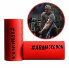 Thick Bar Grips ARMageddon Edition by Steve Weatherford Fits Standard Olympic