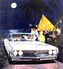 1961 Oldsmobile Automobile ORIGINAL Detroit Advertising Art Painting md299