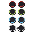 4 Pairs 8 Pcs Silicone Cap Joystick Thumb Grip Protect Cover for Ps3 Ps4 Xbox 36