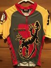 Vintage Mens Size Medium Cannondale Fat Tire Series Headshok Cycling Jersey