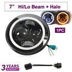7inch LED Daymaker DRL Halo Ring Headlight For Yamaha Royal Star Venture XVZ1300