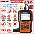 Foxwell Nt510e Full System Engine Diagnostic Scanner Abs Sas Dpf Epb Oil Reset