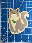 Rare Enjoi Weed Cat Skateboard Sticker Fast Secure Shipping