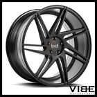 20 BLAQUE DIAMOND BD1 BLACK CONCAVE WHEELS RIMS FITS LEXUS LS430