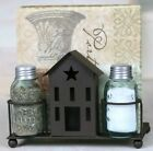 SALTBOX HOUSE MASON SALT / PEPPER / NAPKIN HOLDER