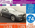 2014 BMW 520D 20 M SPORT GOOD BAD CREDIT CAR FINANCE FROM 74 P WK