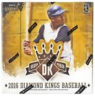2016 Panini Diamond Kings Baseball Hobby Box New