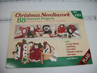 Christmas Needlework 88 Heirloom Projects Home Decor Gifts Fashion 1988 Plaid