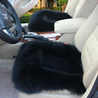 Usa Car Genuine Sheepskin Long Wool Seat Cushion Cover Breathable Warm Chair Pad