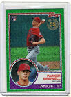 2018 Topps Silver Pack 1983 Chrome Parker Bridwell RC Green Parallel  99