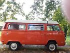 1975 Volkswagen Bus Vanagon Camper VW Westfalia Baywindow Bus 1975