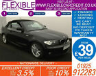 2010 BMW 118i 20 M SPORT CONVERTIBLE GOOD BAD CREDIT CAR FINANCE FROM 39 P WK