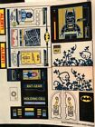 LEGO BATMAN BATCAVE Replacement STICKER SHEET for Set 6860 OEM Stickers  NEW