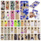 Cute Pattern Clear Soft TPU Shockproof Case Cover For Samsung Galaxy S9 S9+ Plus