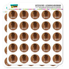 Bigfoot Sasquatch Believe Foot Print Planner Calendar Scrapbooking Stickers