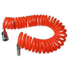 Flexible PU Resin Recoil Hoses Air Compressor Spring Tube 8mmx5mmx6mm Pipe Tool