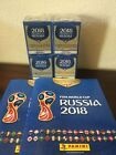 PANINI 2018 FIFA WORLD CUP RUSSIA 2EMPTY SOFTCOVER ALBUMS+4 BOXES*1000 Stickers