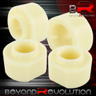 Leveling Lift Kit Block Spacers Front + Rear White For 97-06 Jeep Wrangler TJ