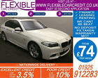 2014 BMW 520D 20TD M SPORT GOOD BAD CREDIT CAR FINANCE FROM 74 P WK
