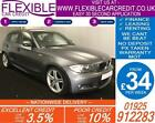 2010 BMW 120D 20 M SPORT GOOD BAD CREDIT CAR FINANCE FROM 34 P WK