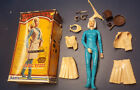 Vintage MARX JOHNNY WEST Jane West doll box and accessories